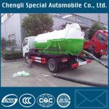 4 Cubic Meter Sewer Septic Sewage Vacuum Trucks