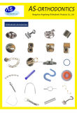 Dental Orthodontic Accessories Metal Accessories Crimpable Hooks Crimpable Stops Lingual Buttons