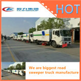 Vacuum Road Sweeper Truck for Street Garbage Sweeper for Sale Cameroon