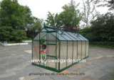2.1m*4.2m Polycarbonate and Alu. Frame Hobby Greenhouse (HB714)