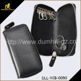 Zip Around Leather Key Wallet