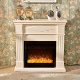 Ce Approved Modern Wood Bedroom Furniture Electric Heater Fireplace (329S)