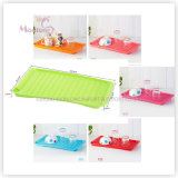 Colorful Kitchen Multi-Purpose Plastic PP Draing Tray 45.6cm*22.2*19.5cm