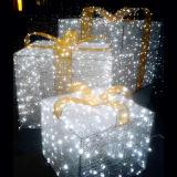 Motif Light Gift Box for Xmas Mall Lighting Decoration
