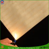 Hotel Textile Woven Polyester Coated Waterproof Flame Retardant Blackout Curtain Fabric