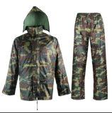 Army Rainsuit/ Rainwear Woodland Camouflage