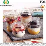 Pet Material Disposable Transparent Plastic Cup for Yoghurt