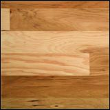 Stained/Natural Color Engineered Hickory Wooden Floor