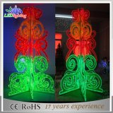 LED Large Artificial Outdoor Decoration Acrylice Stand Christmas Tree for Department Store