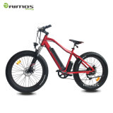 7 Speeds Beach Cruiser 48V 750W Fat Tire Electric Bike