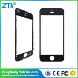 Black Phone Front Screen Glass with Frame for iPhone 5