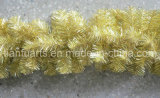 "9′x10""X220tips Shiny+Matt Gold Tinsel Garland"