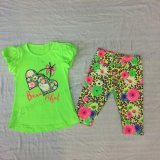 Summer Kids Girl Suit Children Clothes for Children′s Wear Sq-6672