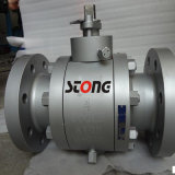 API Forge Steel Trunnion Mounted Ball Valve of 600lb 4inch