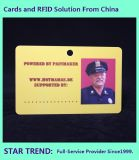 Identity Card Made Plastic with Magnetic Stripe