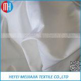 100% Egyptian White Cotton Satin Fabric for Sale