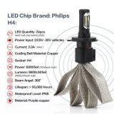 H4 30W Philips LED 4800lumens 6000k LED Headlight Conversion