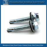 4.8X25 Steel Drilling Point Hex Flange Head Roofing Screws
