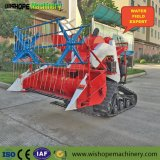 4lz-0.8 Easy Operation Agricultural Machinery Mini Rice Harvester for Sale