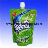 100ml 250ml 500ml 1L Printed Plastic Spout Bag