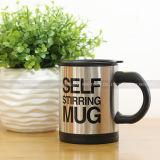 Double Insulated Self Stirring Mug 400ml Electric Coffee Cup