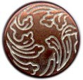 Copper Tin Spring Snap Button