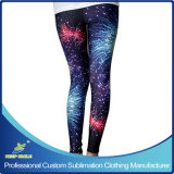 Customized Sublimation Lady Leggings with Custom Fashion Designs
