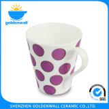 Colorful 375ml Tea / Coffee Fine Bone China Mug