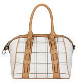 Hot Selling Latticed Fashion Lady Handbags (MBNO031086)