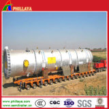 Heavy Duty Hydraulic Low Bed Trailer Transport Heavy Machine