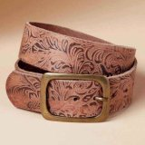 Wholesale Garment Clothing Accessories Leather Belts Man Wearing