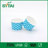 High Quality Disposable Colorful DOT Printed Ice Cream Paper Cups