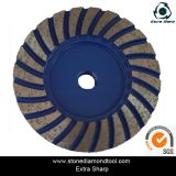 Supply Turbo Wave Diamond Cup Wheel, Polishing/Grinding Stones