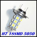 H7 5050SMD 18LED 12V LED Auto Light