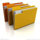PP / Paper A4 Documents Bags with Clip