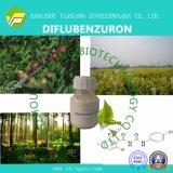 Diflubenzuron (CAS No.: 35367-38-5, 98%TC, 75%WP, 25%WP, 5%WP, 20%EC, 5%EC, 20%SC, 750g/kg WDG, 480g/L SC)