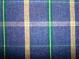 Yarn Dyed Check Cotton Corduroy Fabric