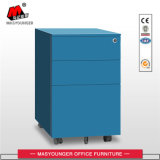 White Color Office Mobile Filling Storage Cabinet
