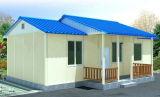Well Designed Prefabricated Houses in Sandwich Panels