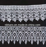 100% Cotton High Quality Embroidery Lace (FL-001)