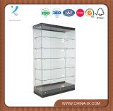 Customized Black Wall Unit Display Case for Retail Store