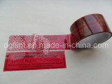 Customized Tamper Evident Security Tape