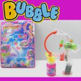 Battery Operated Bubble Gun with Light with Muscial, Bo Gun, B/O Gun