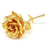OEM High Quality Golden Rose Flower for Valentine Gift