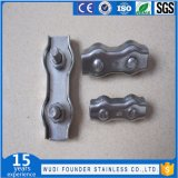 Stainless Steel Duplex Wire Rope Clamp
