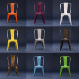 Customized Various Colors Industrial Metal Dining Chair (SP-MC035)
