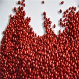 Rubber PP/PE Plastic Recycles Red Masterbatch Granules