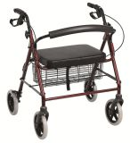 Aluminum Walker with Basket for Adults and Child