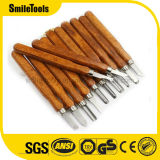 12PCS Wood Engraving Carving Chisel Knife Woodworking DIY Tools