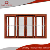 3-Track Aluminium Profile Sliding Composite Window with Insect Screen